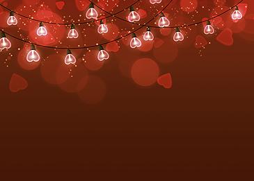 dark red gradient background halo valentine light effect