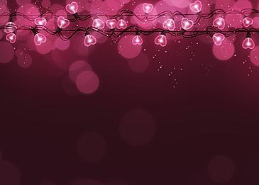 pink halo lantern valentines day light effect