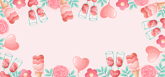 gorgeous romantic red wine rose green pink valentine background