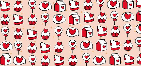 happy valentines day on pink background