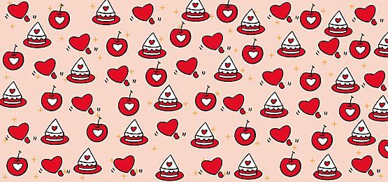 happy valentines day pink background
