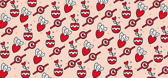 pink romantic valentines day background