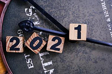 2021 retro time background