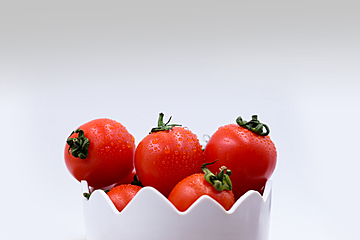 dining background cherry tomatoes