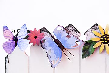 butterfly background illustration