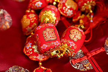 chinese new year lantern background map