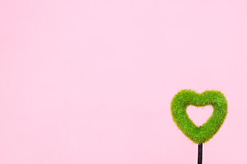 valentines day simple heart shaped background illustration