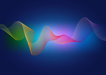 color gradient wave line background