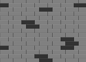 geometric brick wall brick pattern background