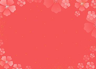 japanese hinamatsuri petals dancing background