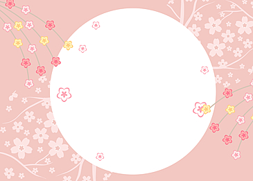 japanese petals peach blossom dancing pink background