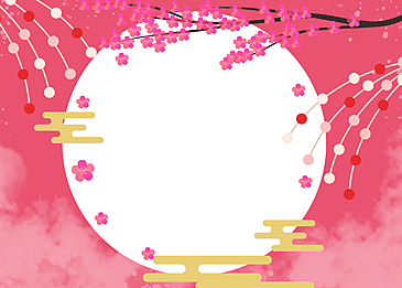peach blossom festival background daughter festival background