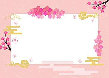 peach blossom festival dolls festival hinamatsuri background