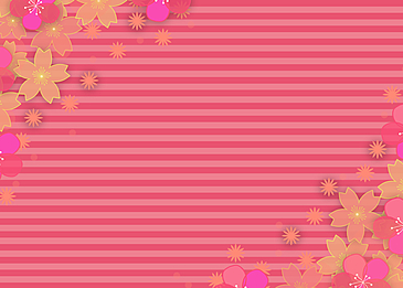 petal flowers dancing holiday background
