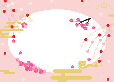petals falling down japanese girls festival background