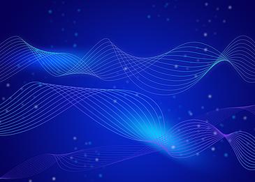 blue light technology background