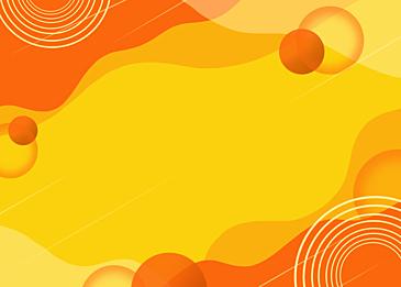 orange fluid abstract background