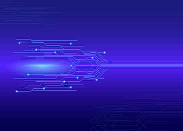 abstract technology circuit style gradient background