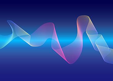 beam wave line gradient background