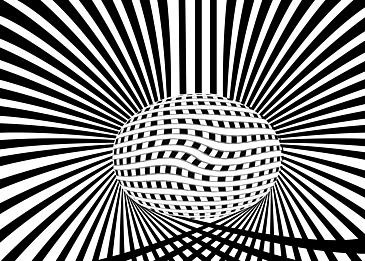black and white misplaced optical background psychedelic background