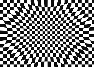 black and white psychedelic background