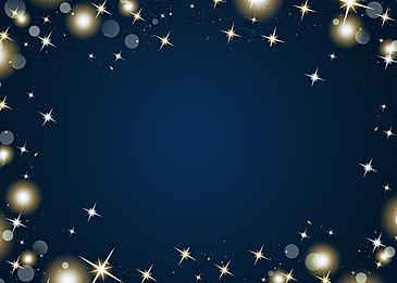 blue dots starlight glitter border background