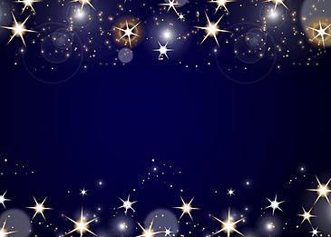 blue fantasy shining star background