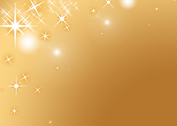 creative golden star shining background