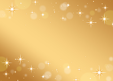 gradient golden shiny star background