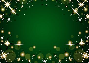 green spot starlight glitter background