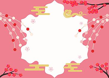japanese style background petals background pink background