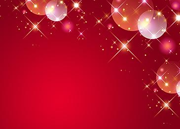 light spot polka dot starlight red background