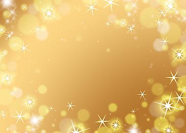 light spot starlight shiny golden border background