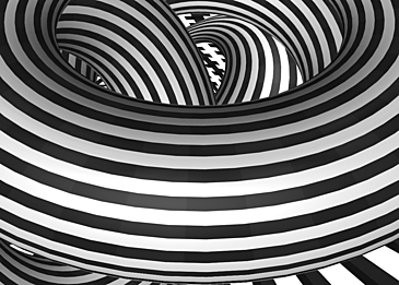 optical misalignment of black and white stripes background