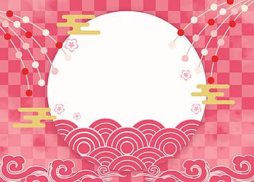 petal flower japanese festival background hinamatsuri background