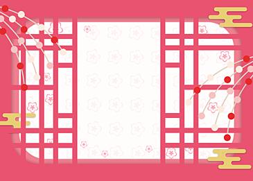 pink background japanese style background petals background japanese festival