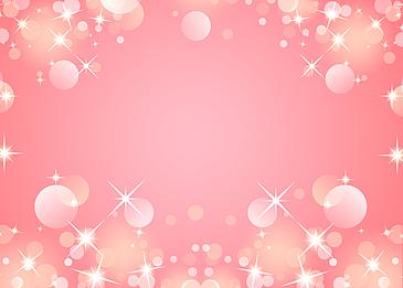 pink romantic starlight polka dot background