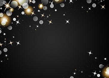 polka dot light spot starlight black background