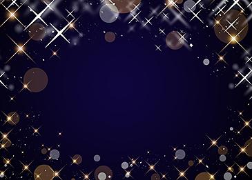 polka dot star glitter blue background