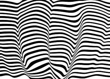 psychedelic visual stripes warped background