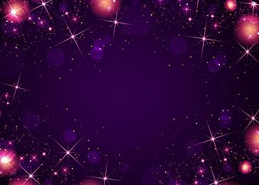 purple fantasy starlight background