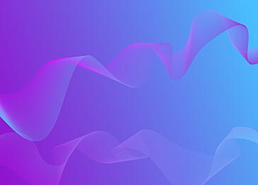 purple gradient wave line background