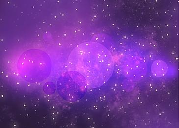 purple romantic starry star light effect background