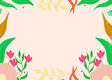 flower meadow spring pink background