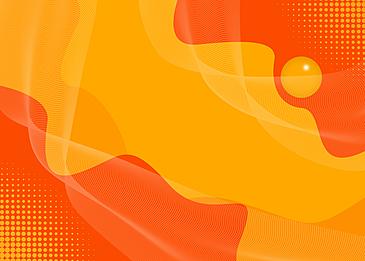 orange yellow abstract fluid background