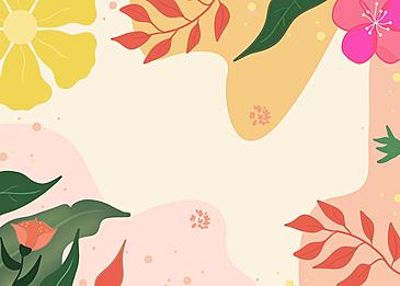 petal leaf plant background