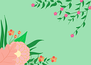spring flower plant background