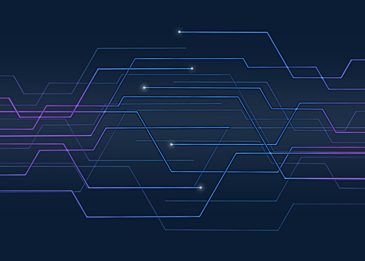 blue gradient technology circuit background
