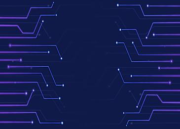 blue purple gradient circuit background