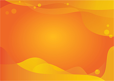 orange gradient abstract fluid background